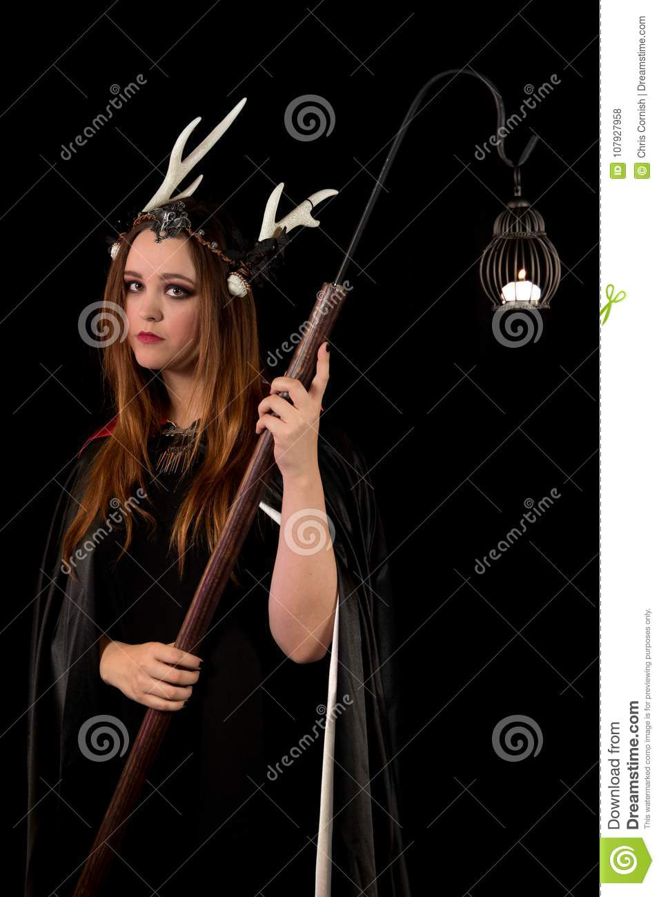 The Coven Sisters stock photo  Image of female, halloween