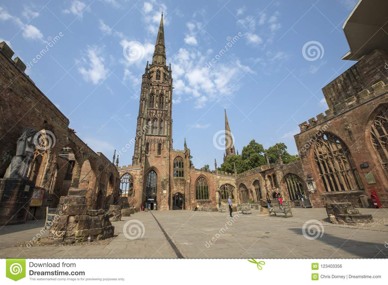 Coventry Cathedral in the UK