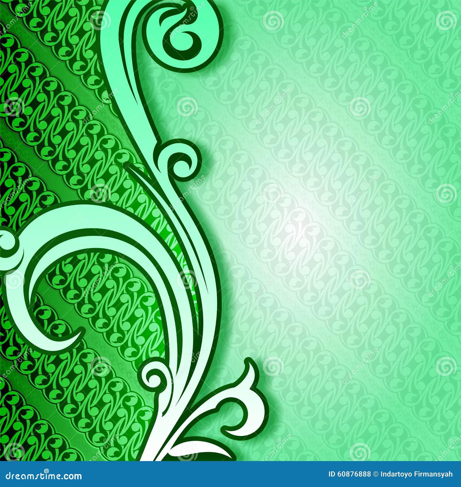 Background Kuning Batik - Nice Blog