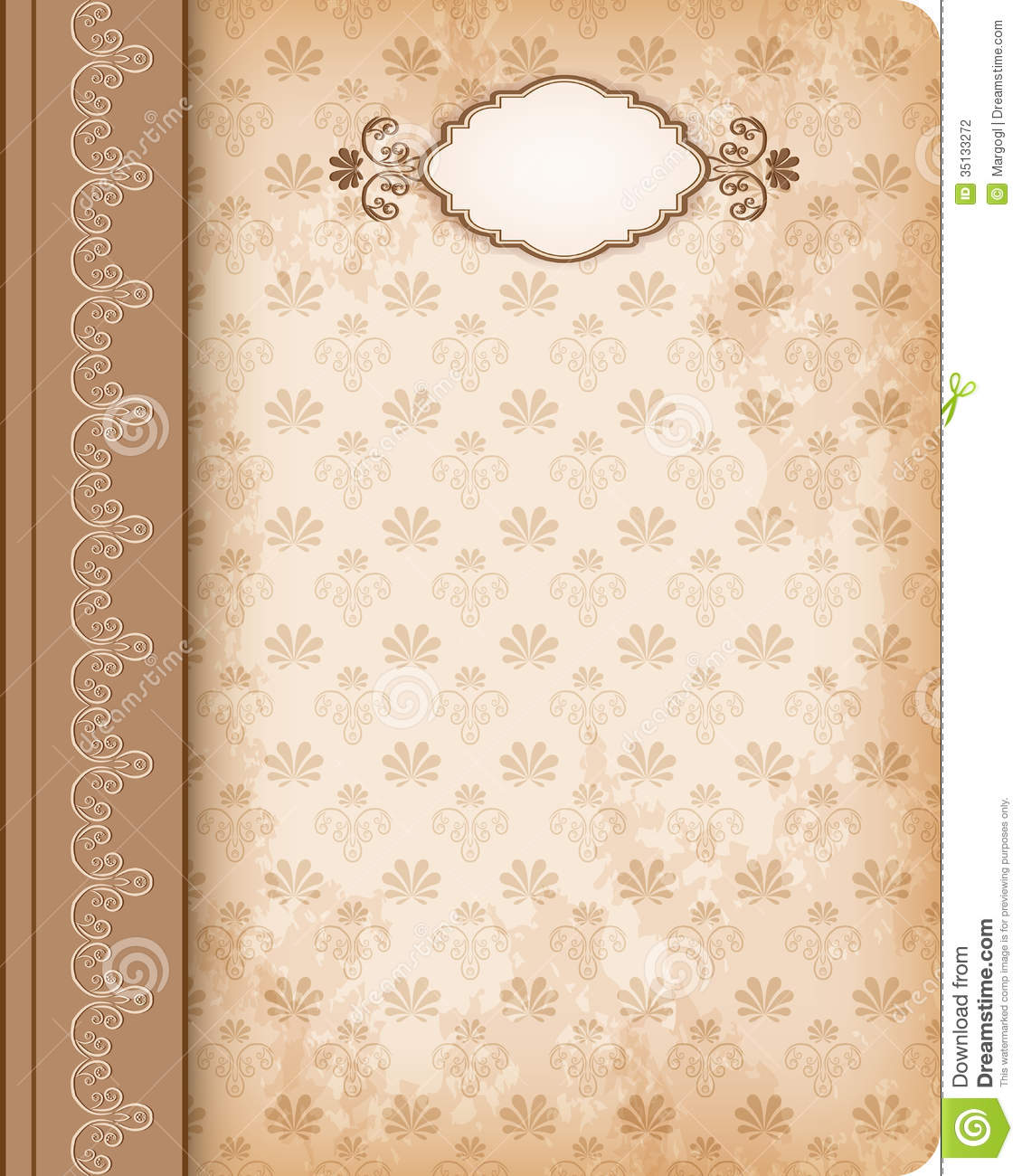 Old Book Cover Clipart