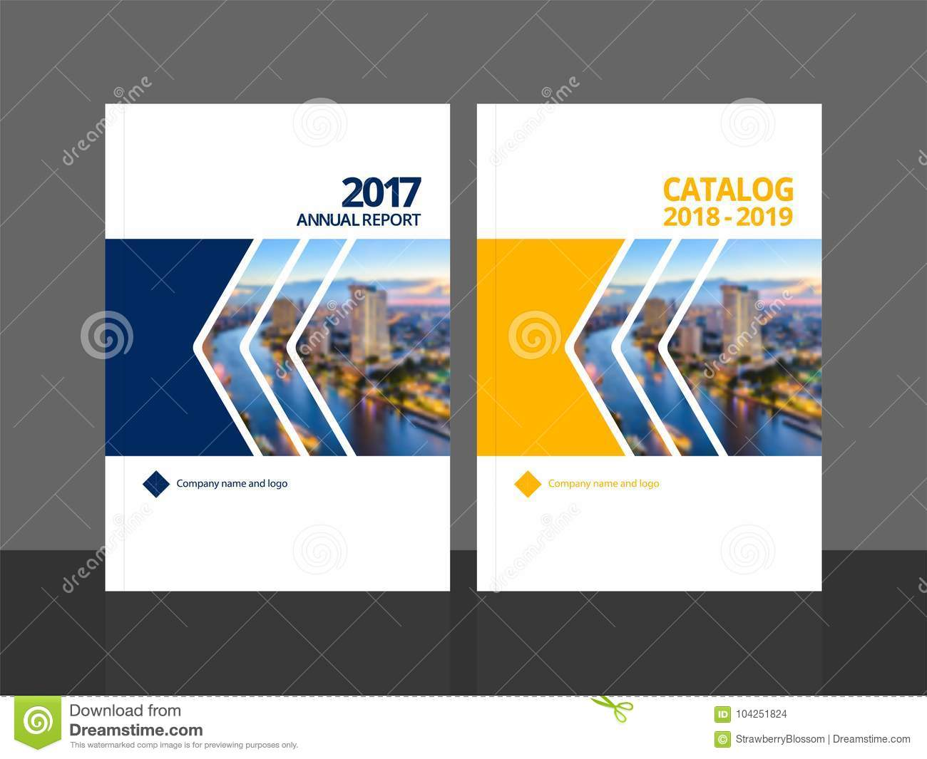 Cover design annual report and catalog