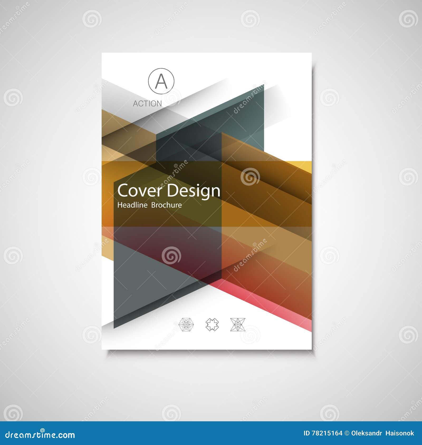 Book Cover Design Photo Elements ~ Cover design for annual report catalog or magazine book