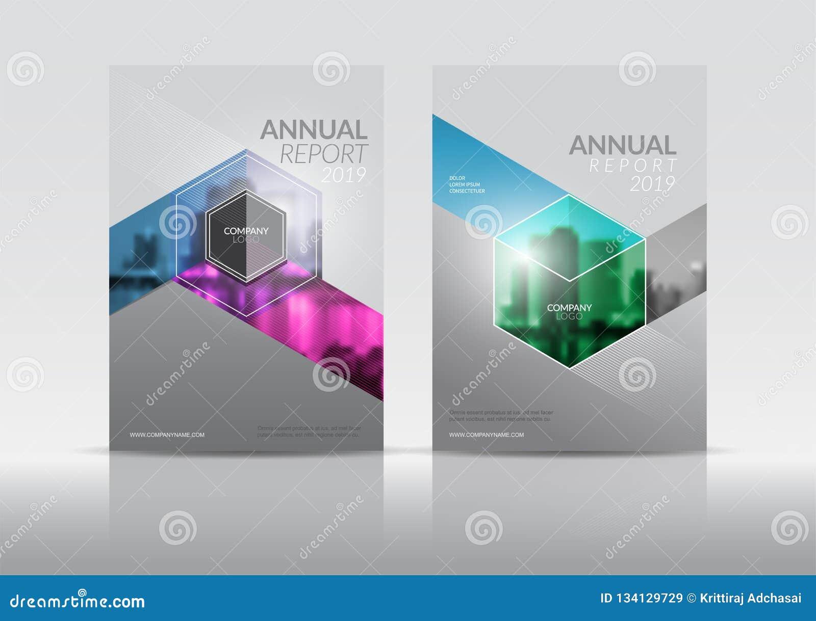 cover design template  annual report cover  flyer  presentation  brochure stock illustration