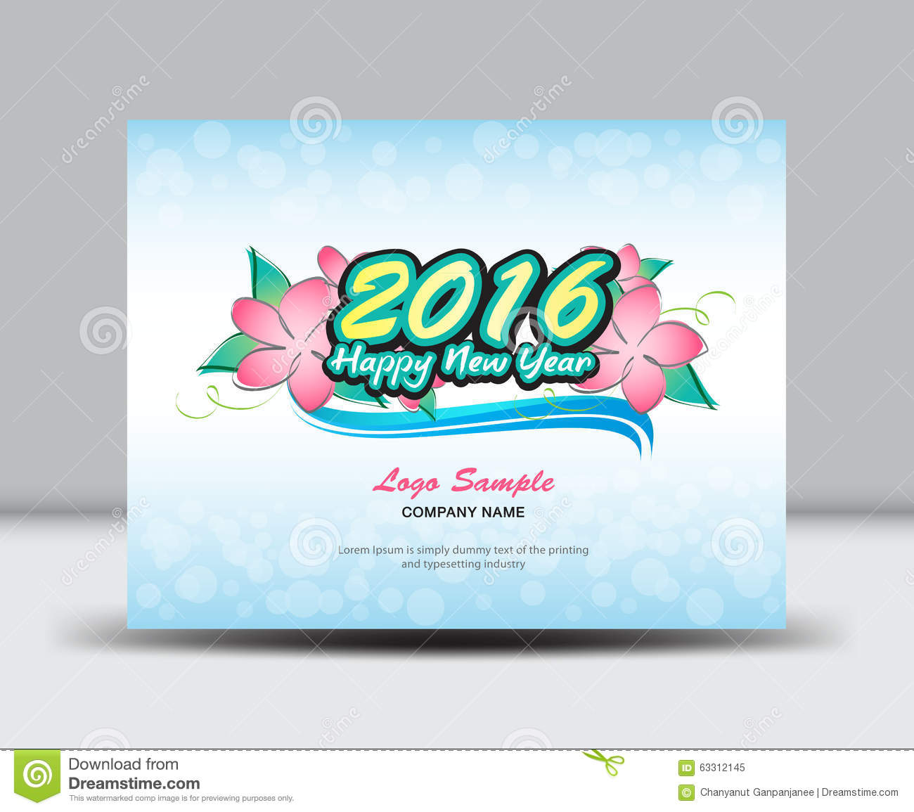 cover desk calendar 2016 vector template cover desk