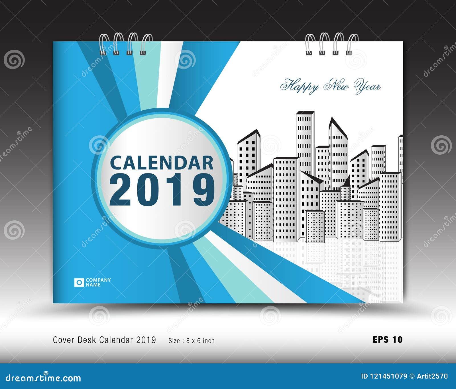 35 Best Magazine Template Designs 2019: Cover Desk Calendar For 2019 Year Template Vector, Book