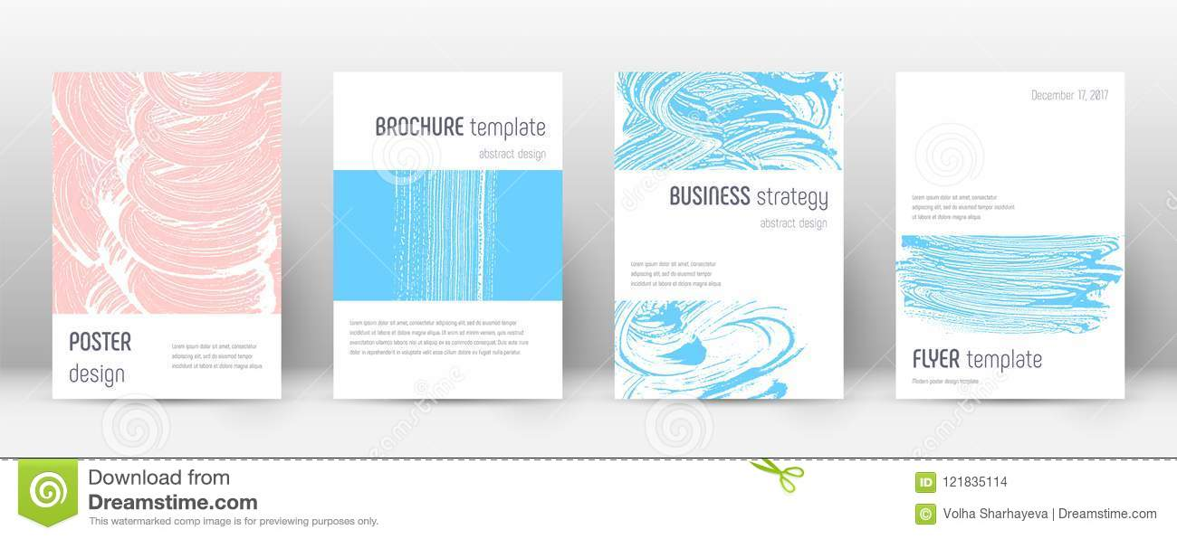 Cover page design template. Minimalistic brochure layout. Breathtaking trendy abstract cover page.