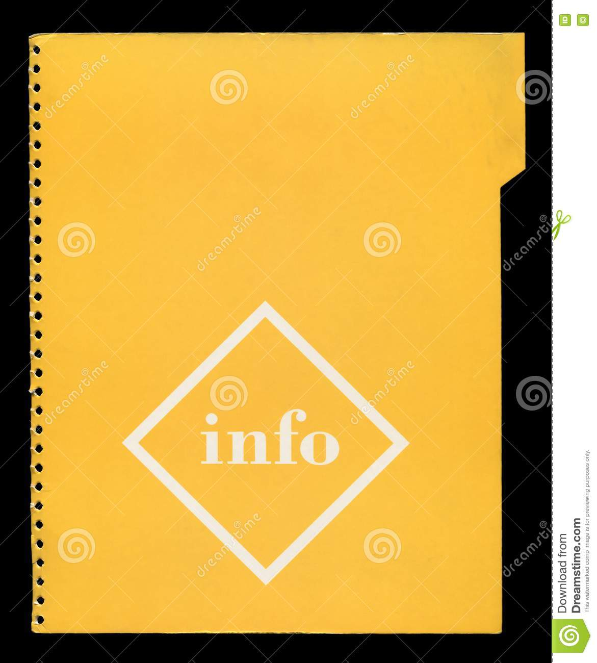 Torn Paper Book Cover : Cover torn file royalty free stock photo image
