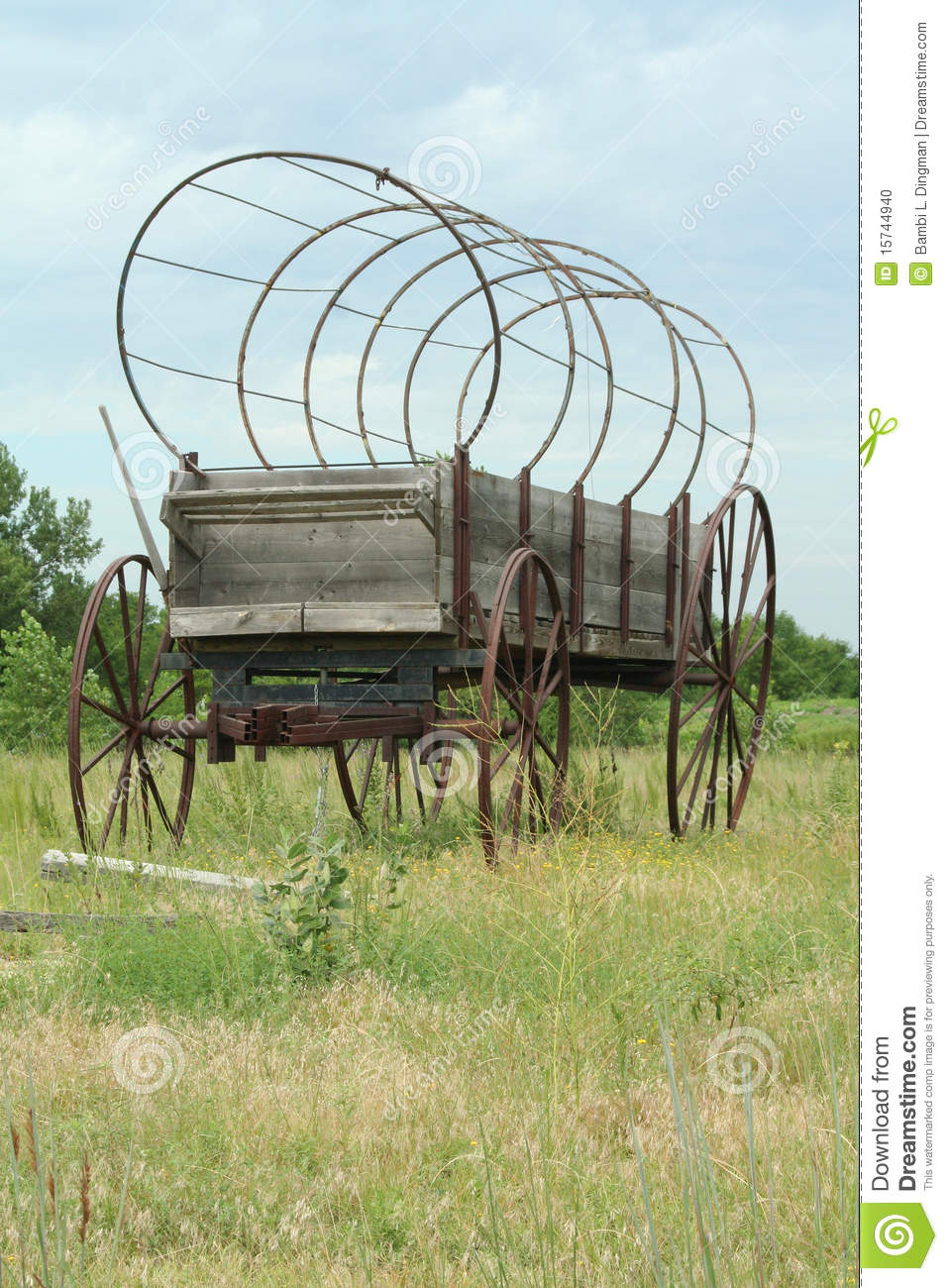 Covered Wagon stock photo  Image of axle, cowboy, seat