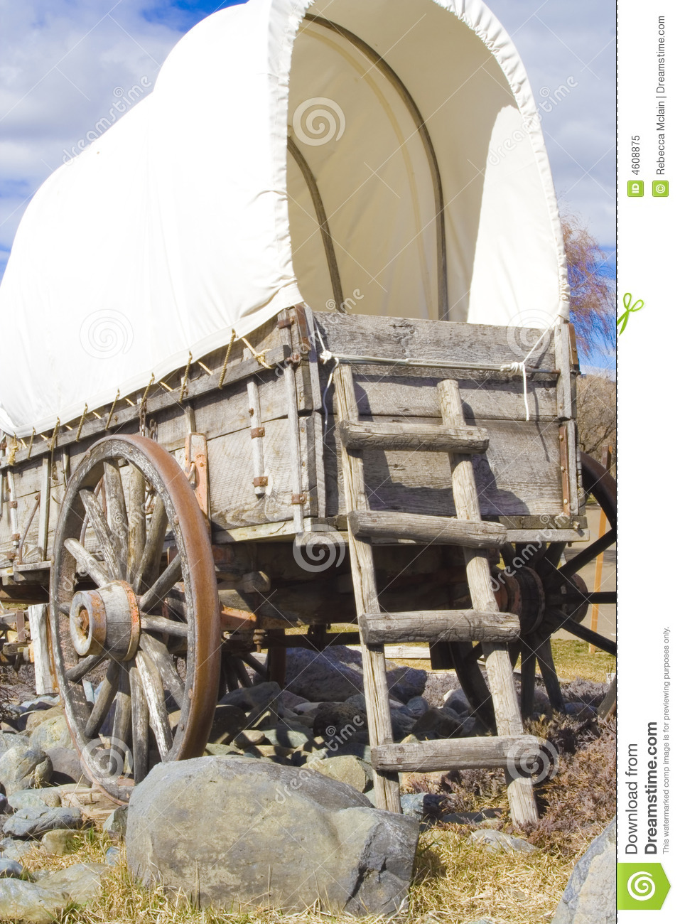 Covered Wagon Rear Photos Free Royalty Free Stock Photos From Dreamstime