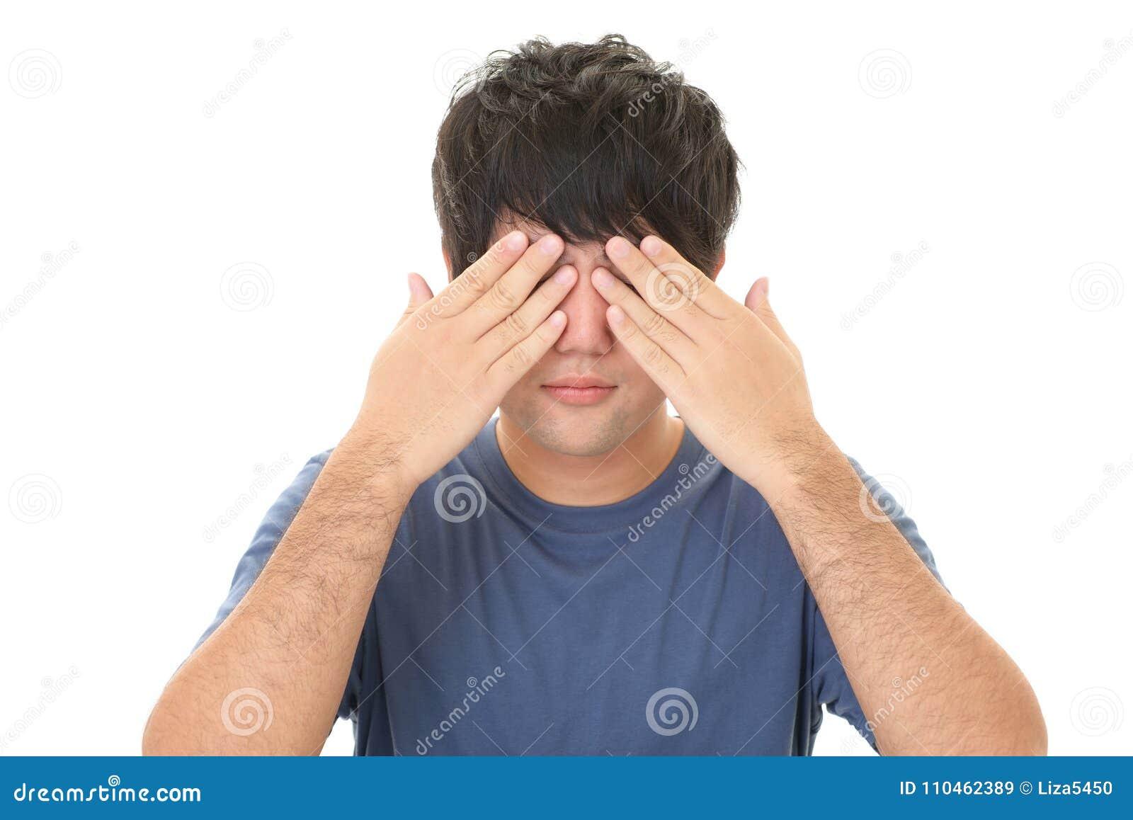 Coveringen eyes hans man