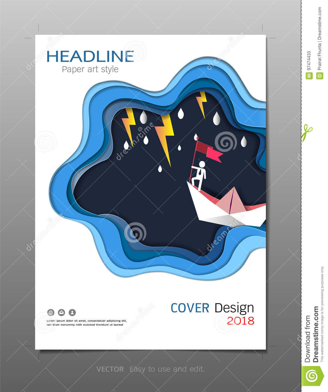 Covers Design Template, Inspiration For Leadership And