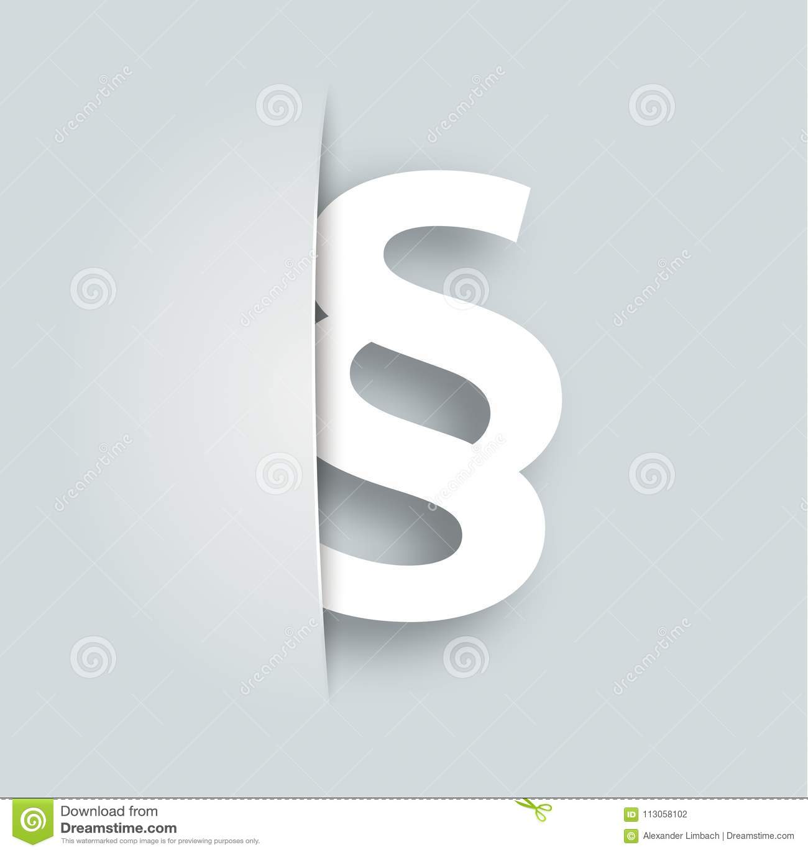Paragraph essay symbol