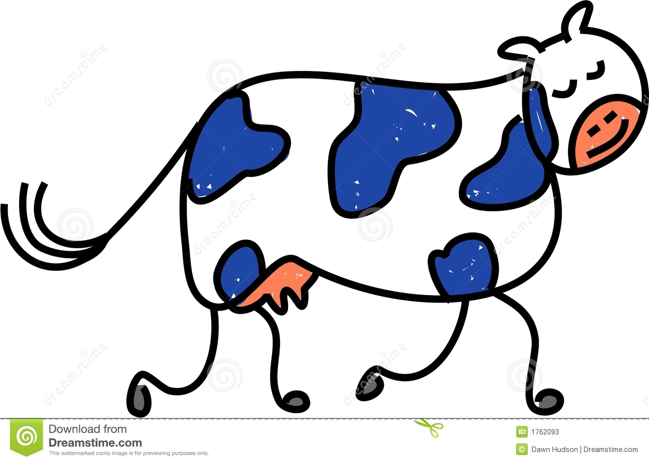 cow clipart simple - photo #24