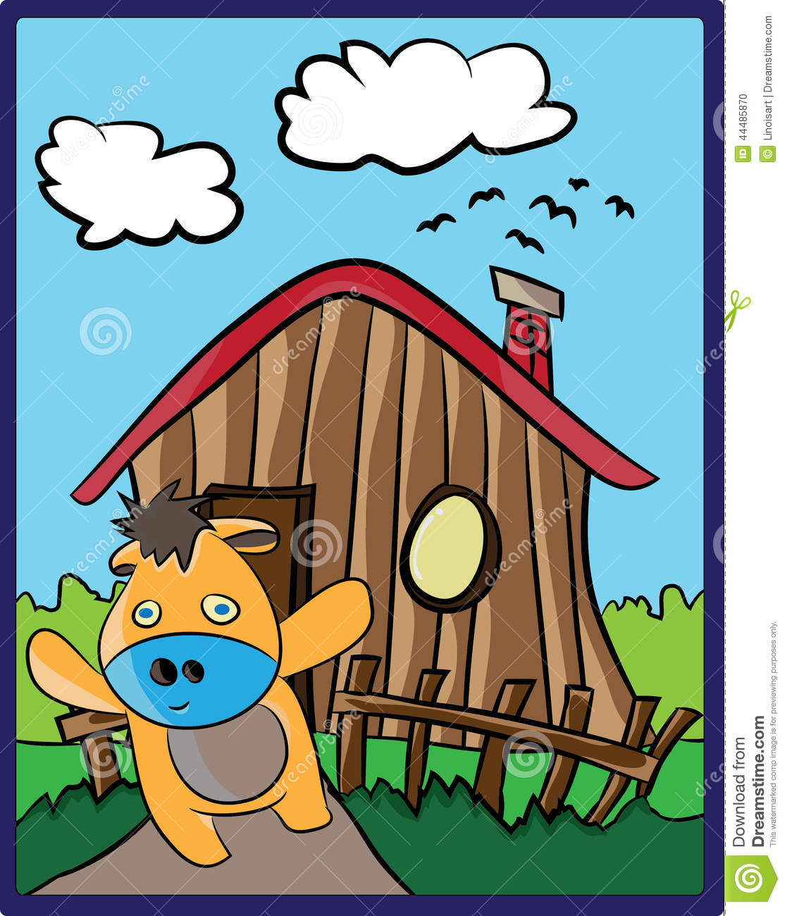 Download Cow Cartoon Stock Illustration Of Image