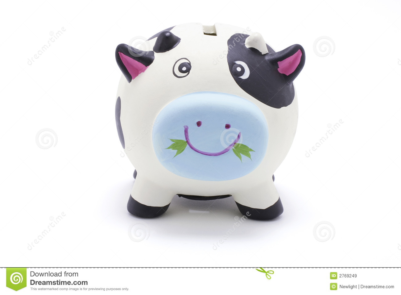 Download Cow Coin Box stock image. Image of security, background - 2769249