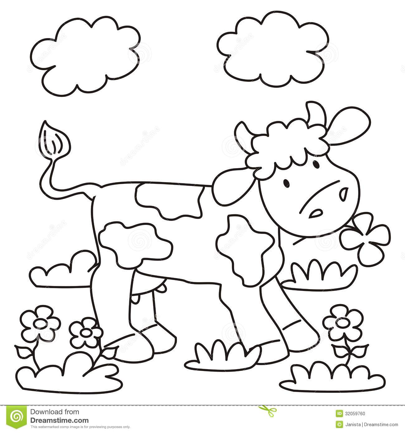 meadow animals coloring pages - photo#26