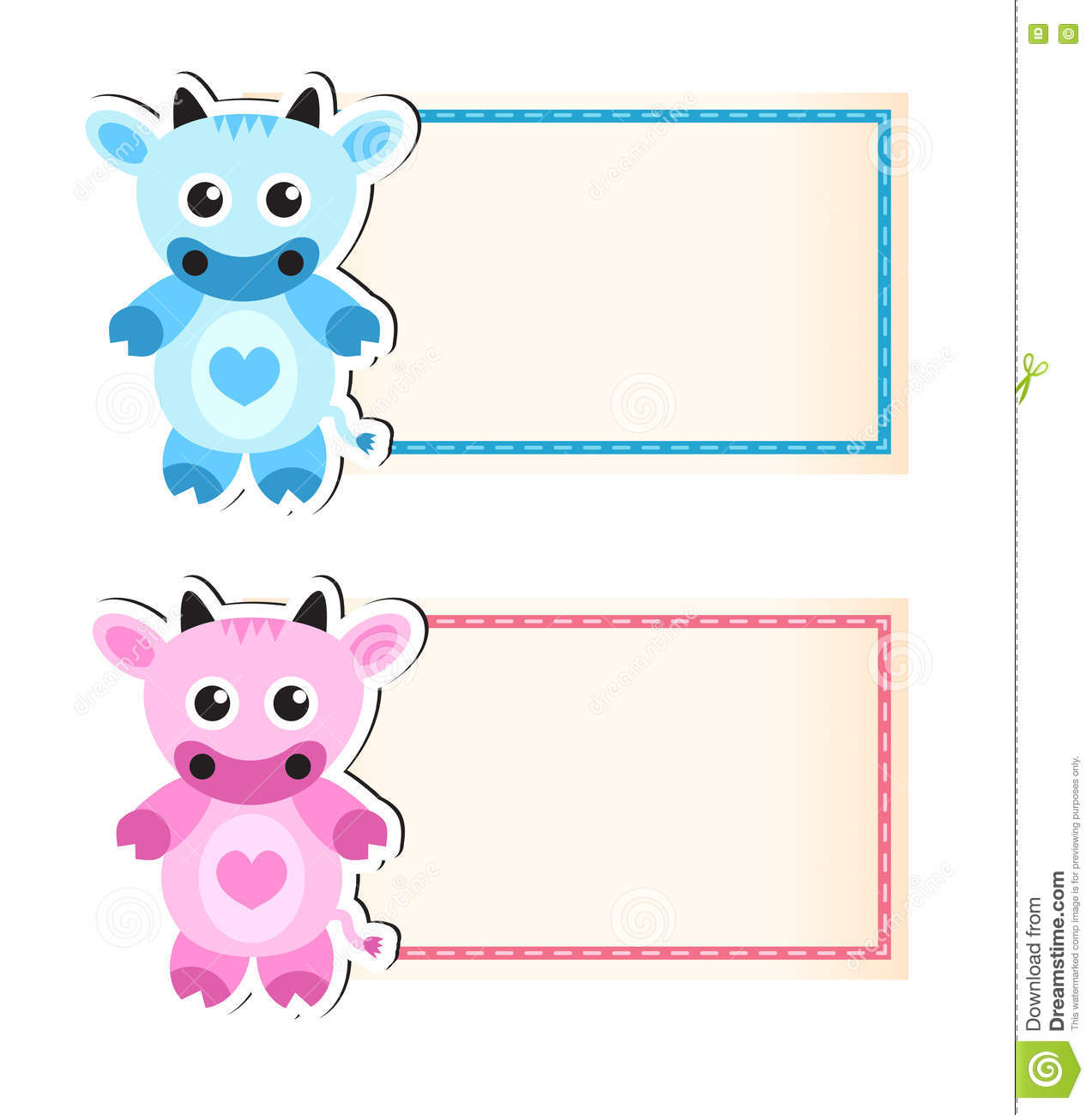 Cow Cute Blank Template For Invitation  Invitation Blank Template
