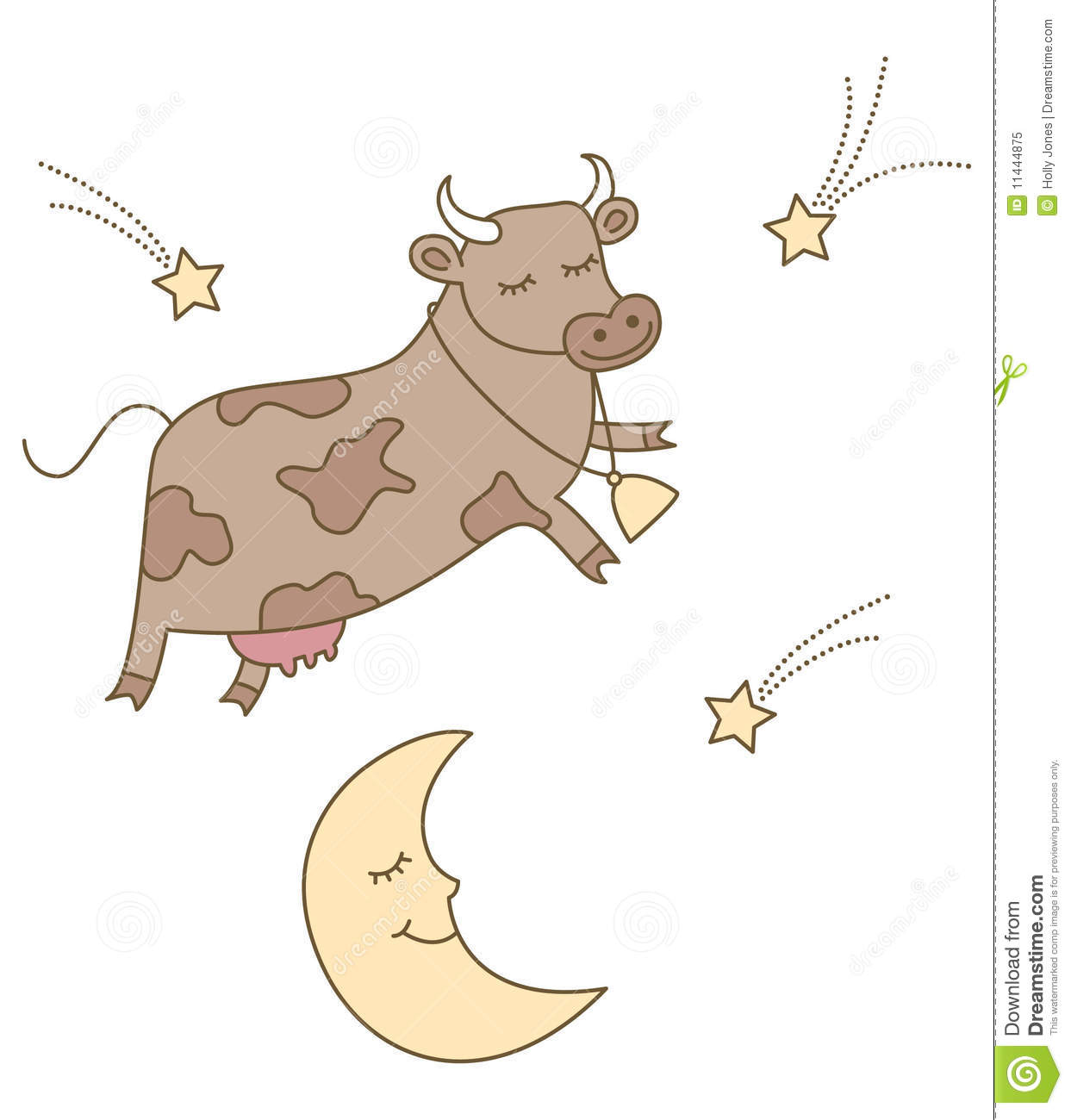 The Cow Jumped Over The Moon | www.pixshark.com - Images ...