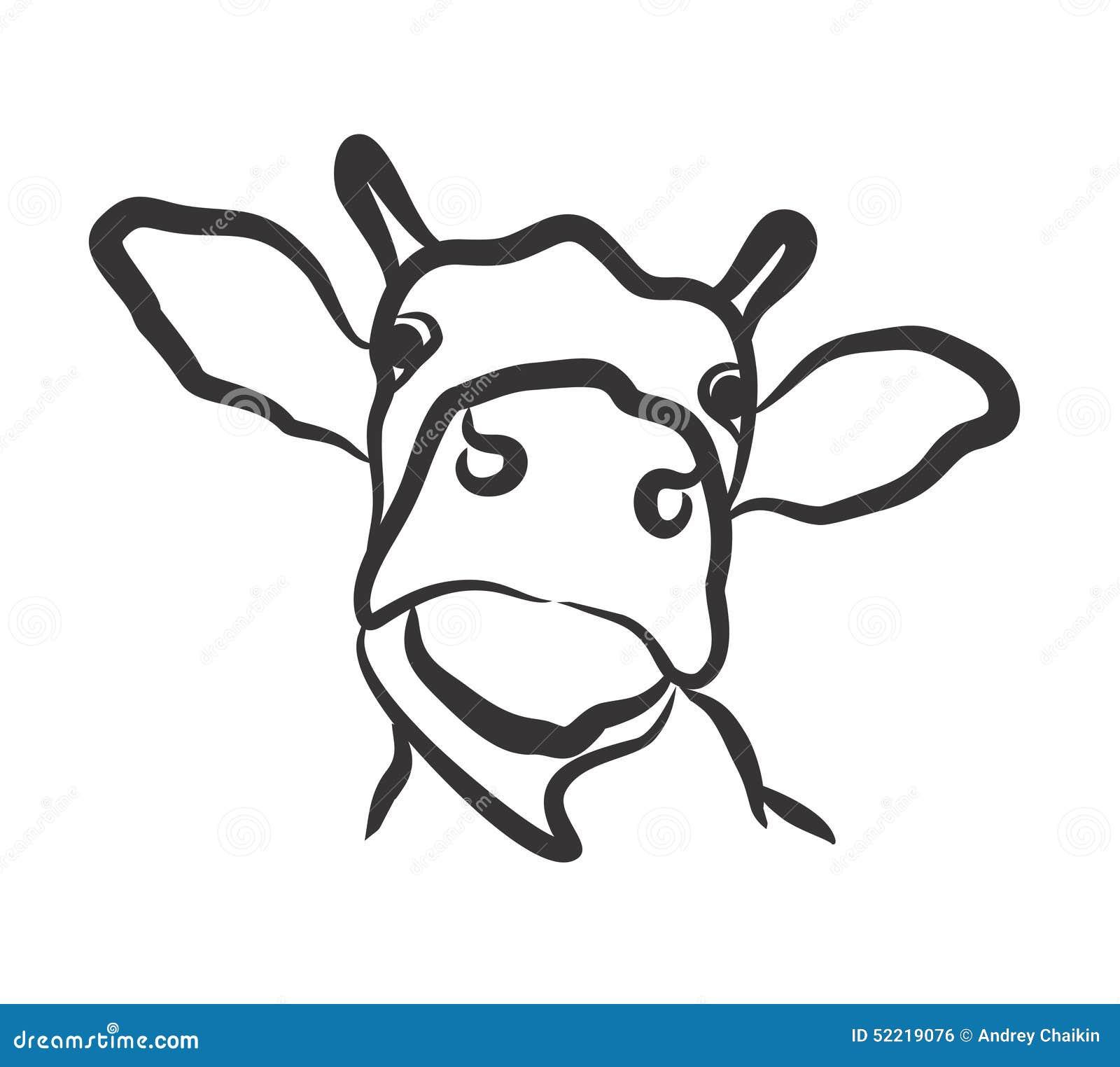 Cow Logo Stock Vector - Image: 52219076