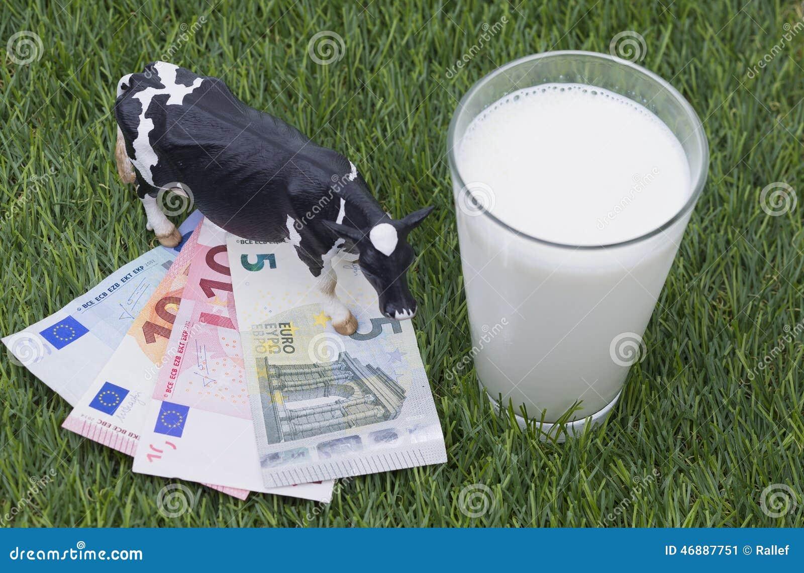 Cow, mild, money and gras