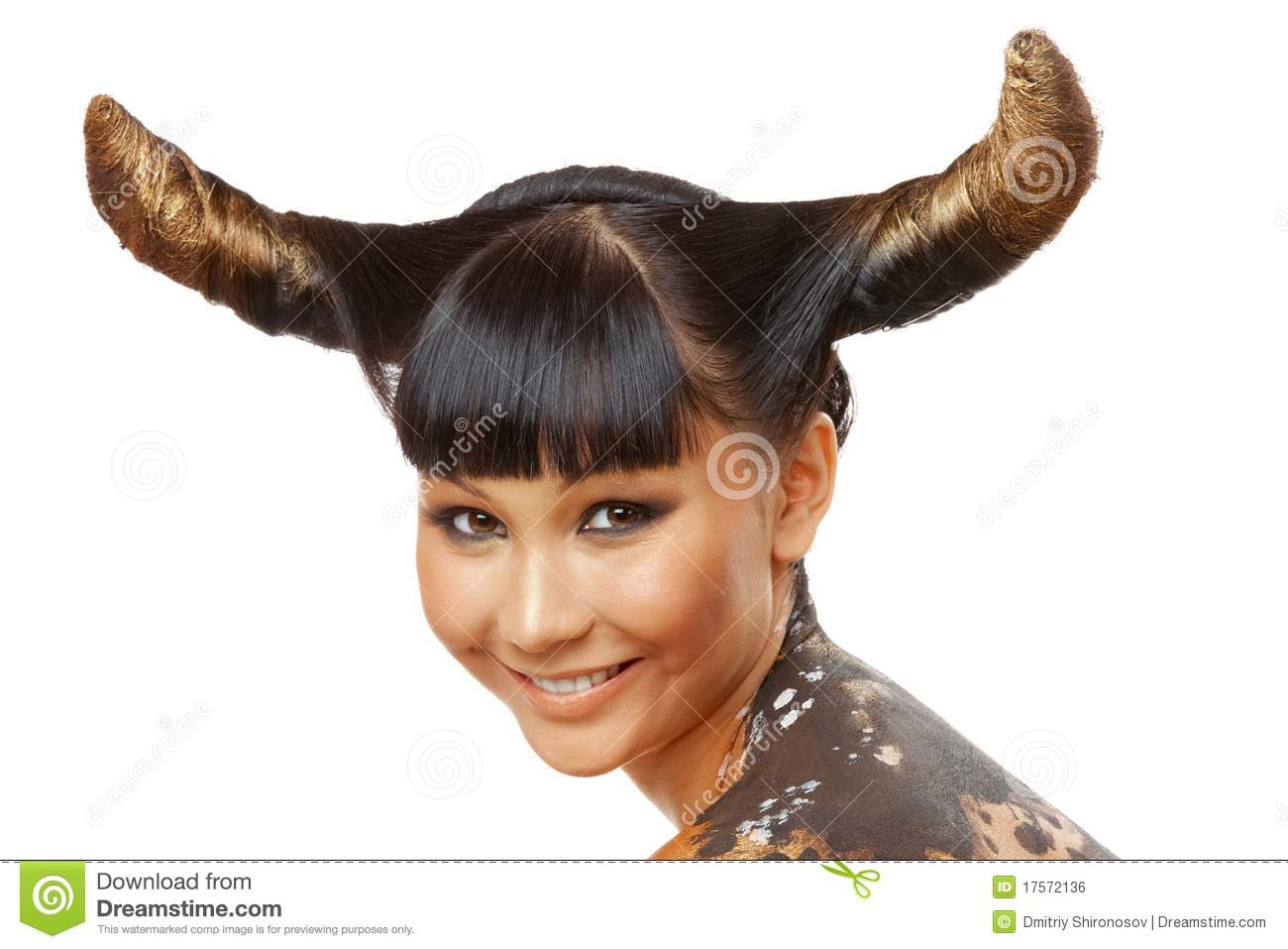 cow hair styles cow style royalty free stock image image 17572136 9207