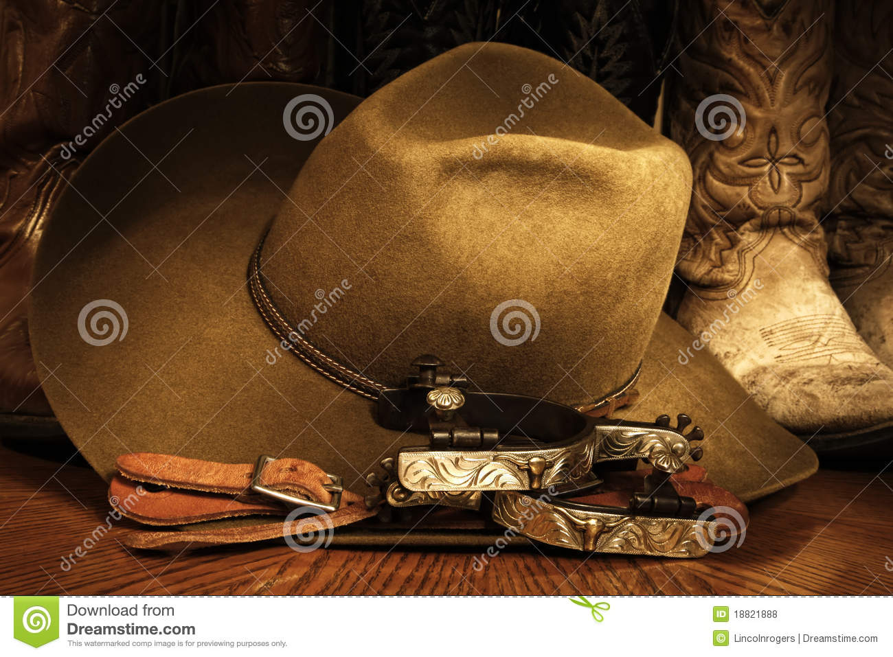 Cowboy Accessories Royalty Free Stock Photos Image 18821888