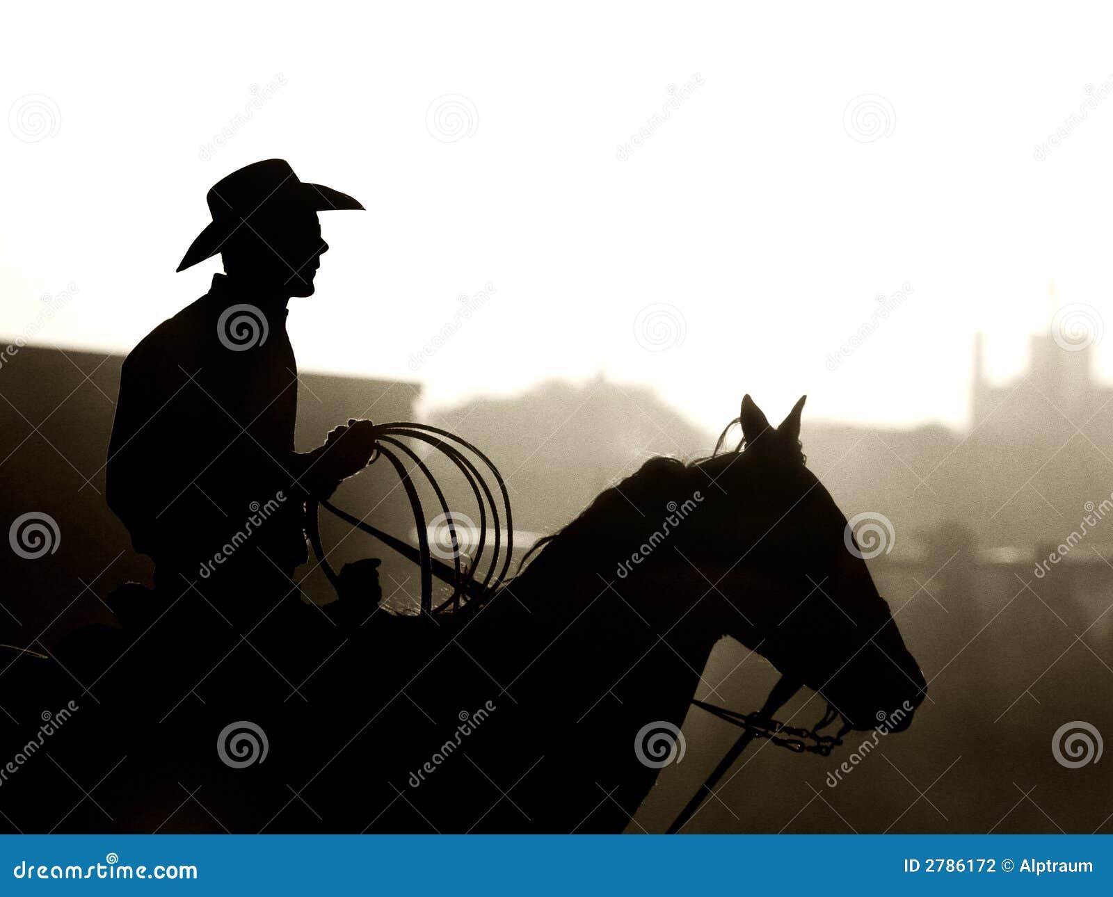 Cowboy al rodeo