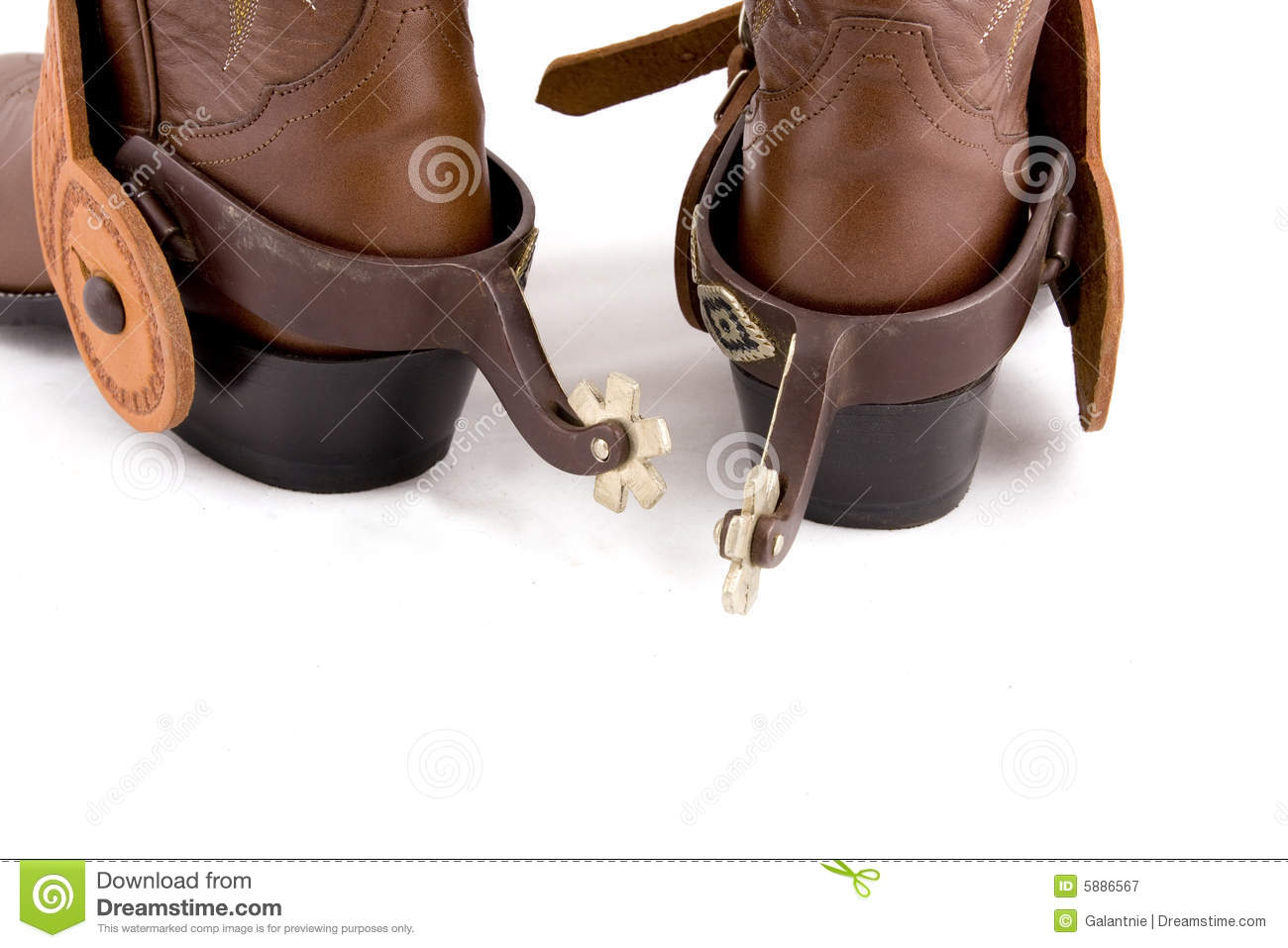 Cowboy Gear Royalty Free Stock Photography Image 5886567