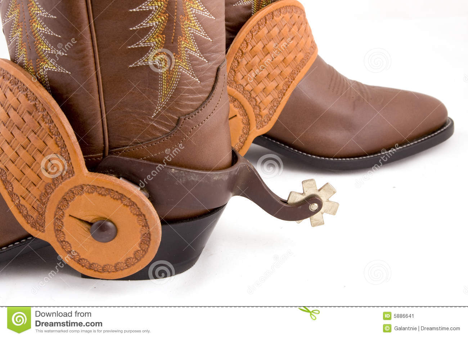 Cowboy Gear Stock Image Image 5886641