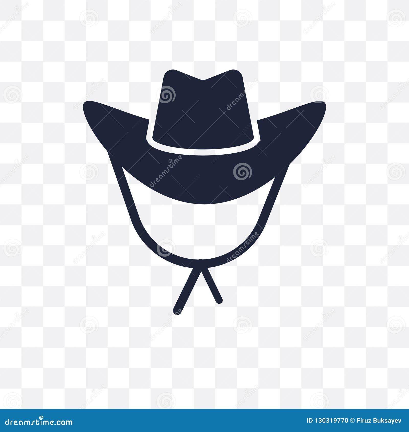 e9e74d3b5c9 Cowboy Hat transparent icon. Cowboy Hat symbol design from Desert  collection.