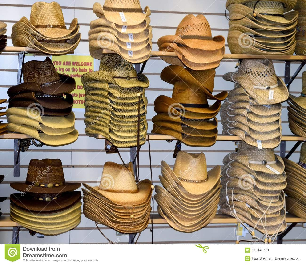 dfabfdda5303 ... coupon code for download cowboy hats for sale at willie nelson museum  editorial image image of
