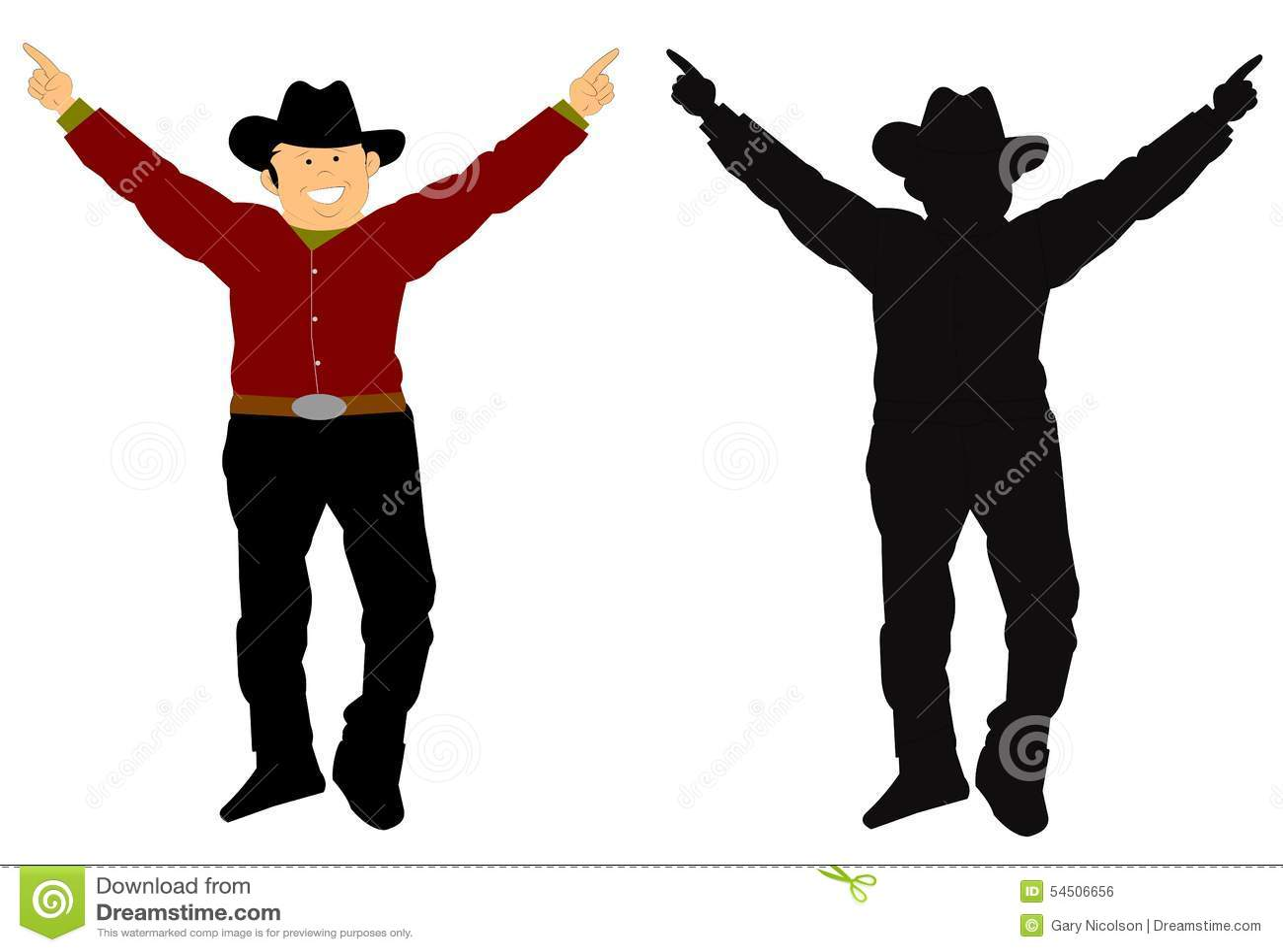 Cowboy heureux