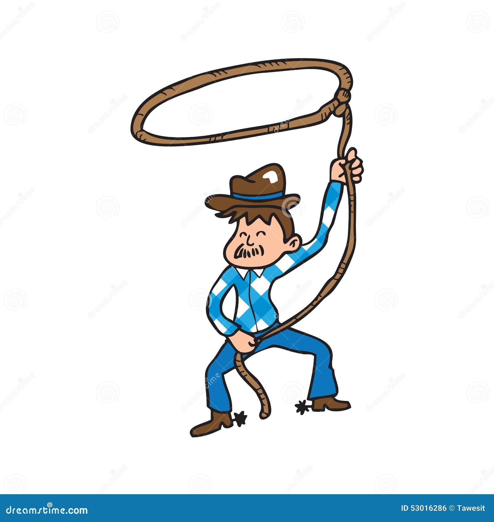 Cowboy Old Man Stock Illustration - Image: 53016286