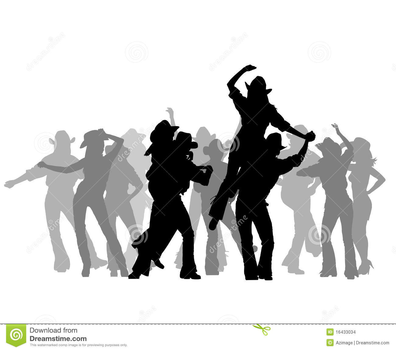 Cowboy Party Stock Images - Image: 16433034