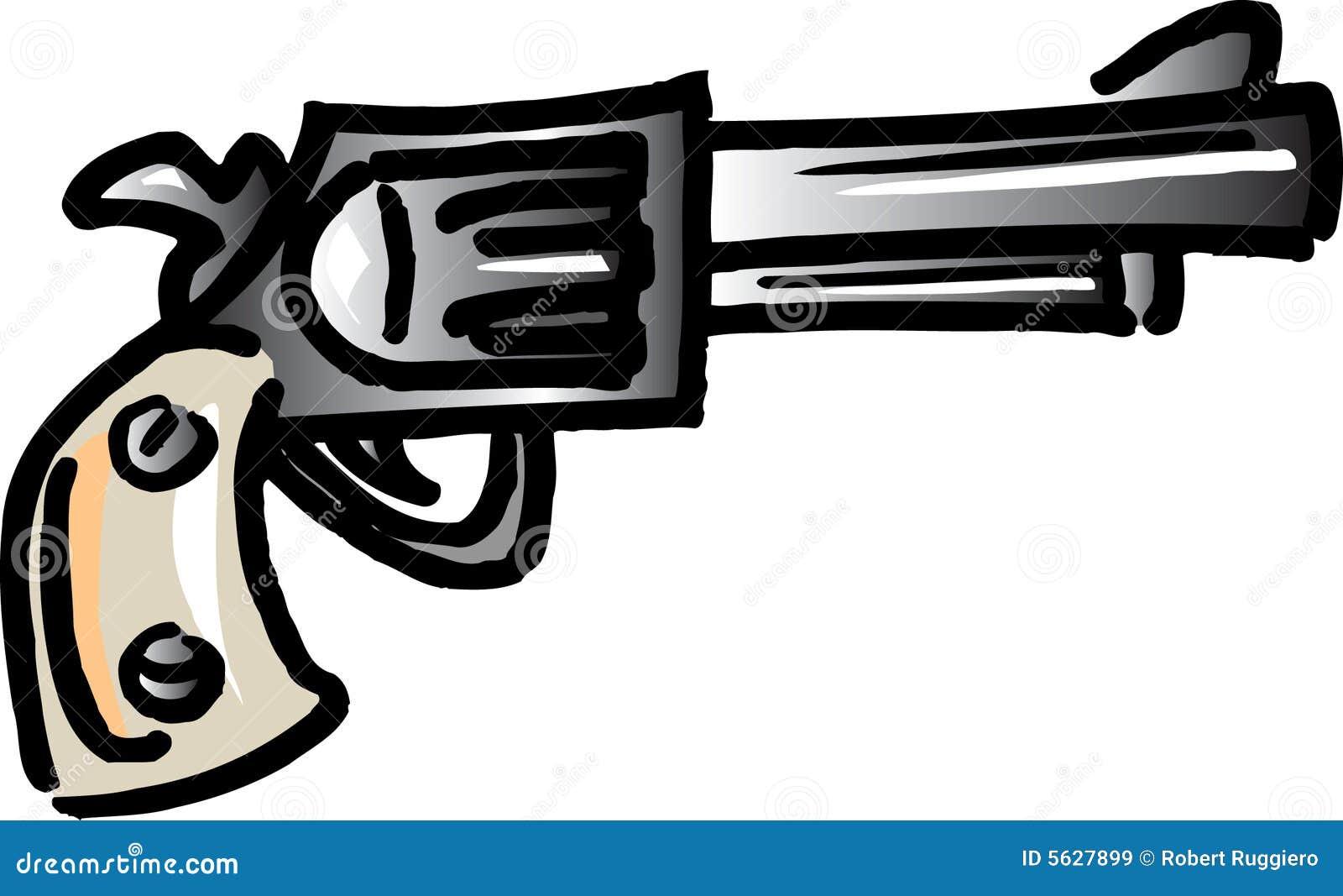 Pistole Zeichentrick