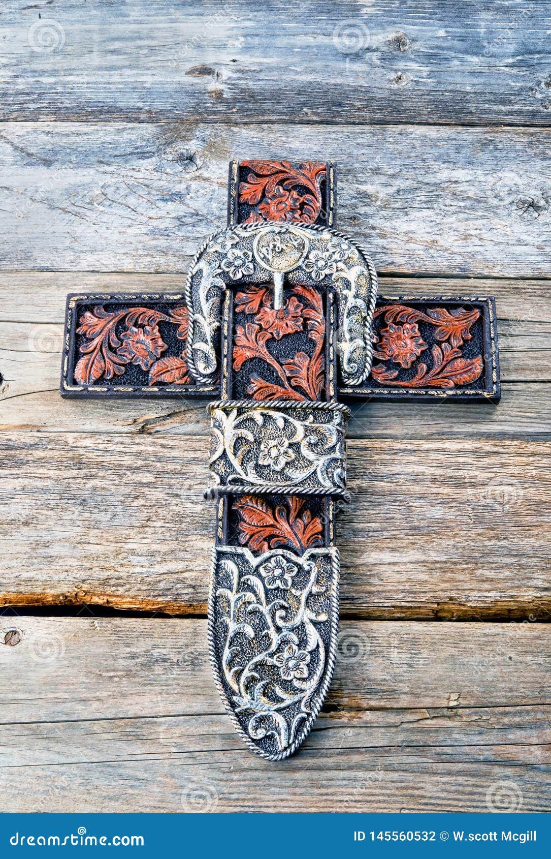 Cowboy Prayer Cross