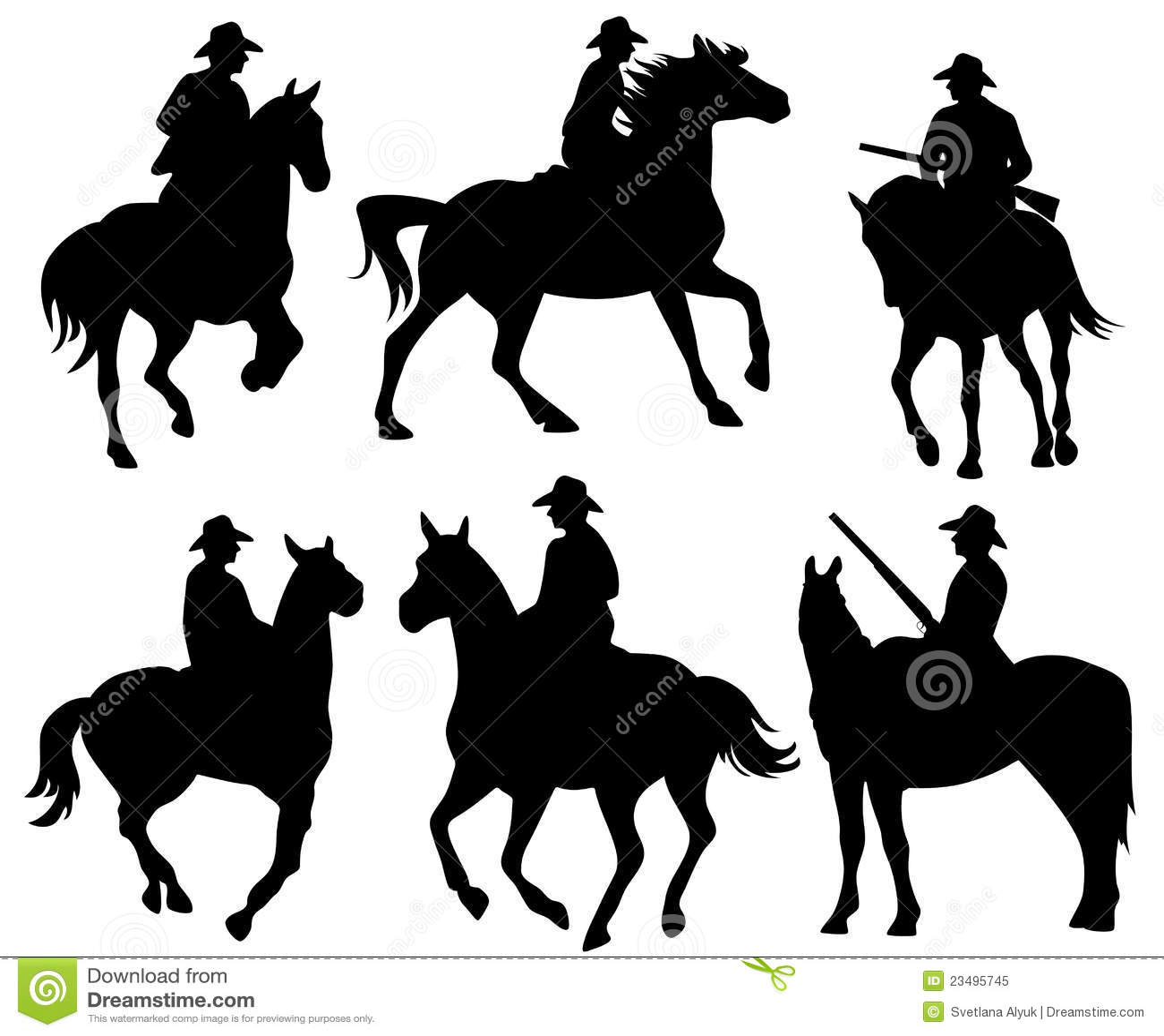 Cowboy vector - photo#10