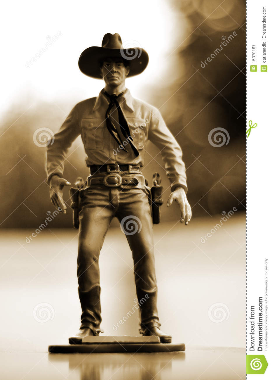 How To Figure Car Payment >> Cowboy Toy Figure Royalty Free Stock Photography - Image: 15370167