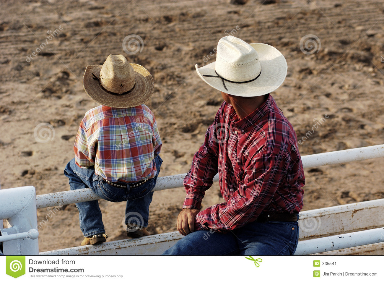 Cowboys, young and old
