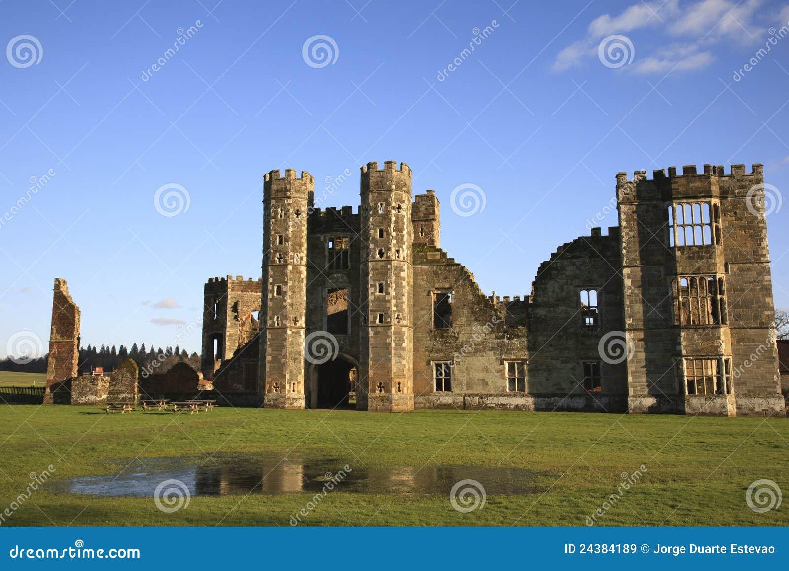 Cowdray midhurst Англии губит запад Сассекс