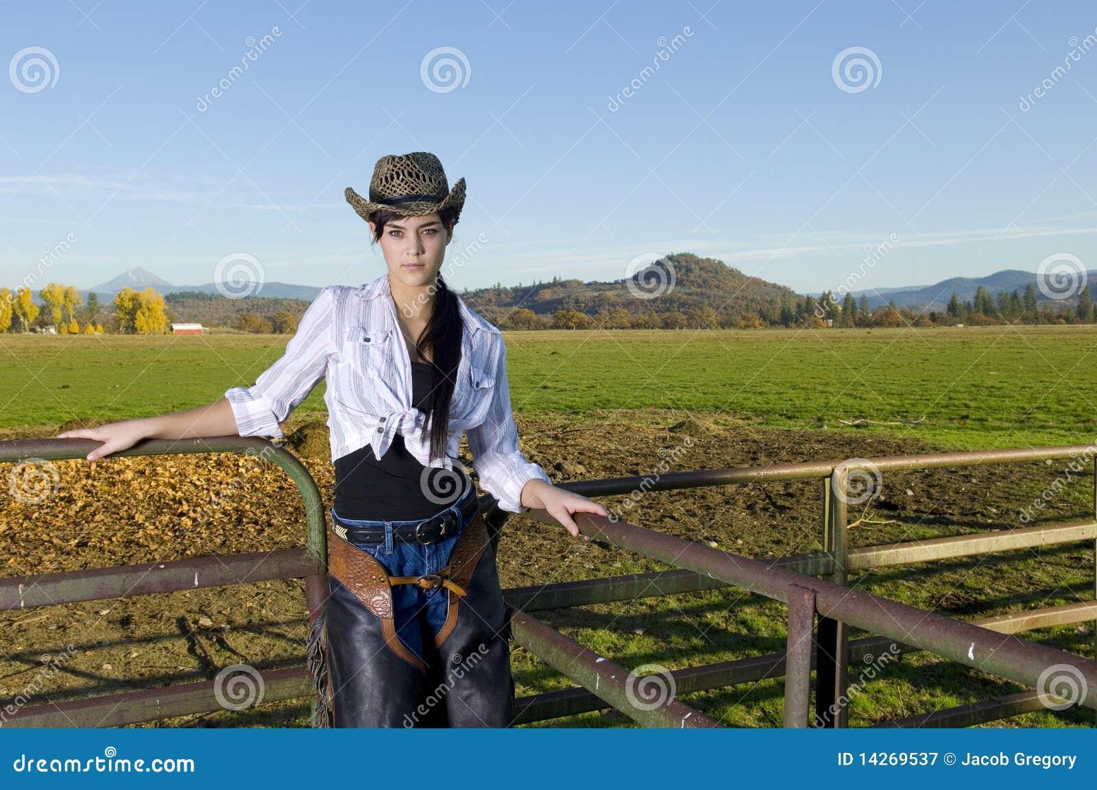 Cowgirl φραγή