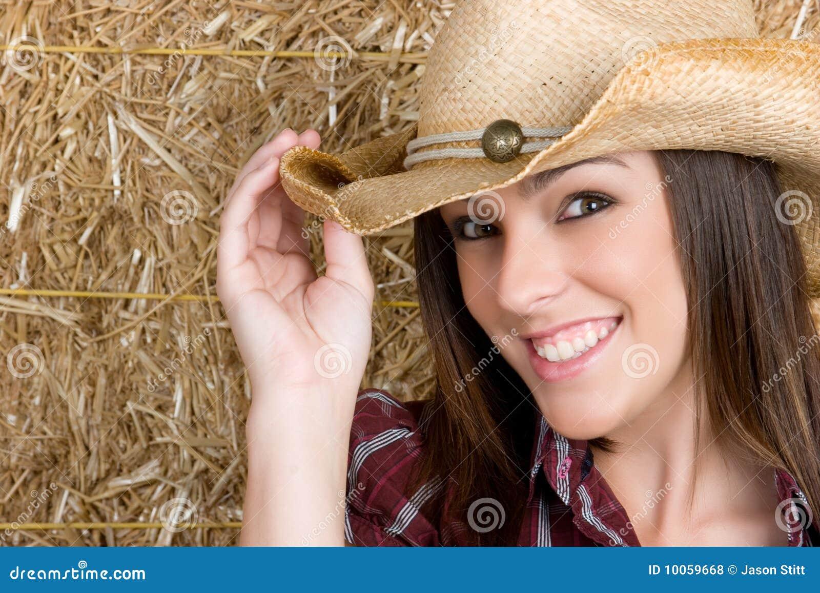 Cowgirl adolescente