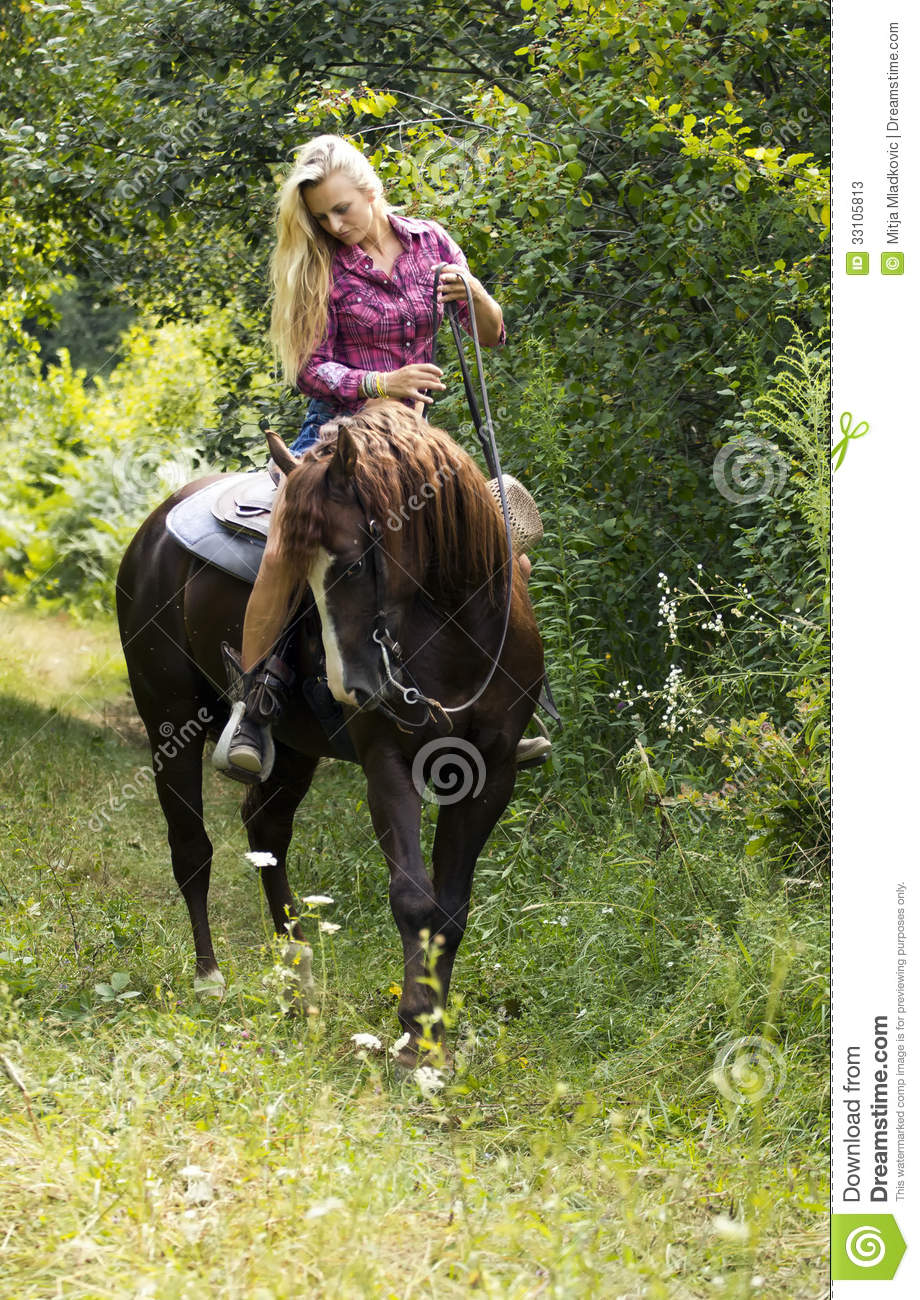 Cowgirl Stock Photos Image 33105813