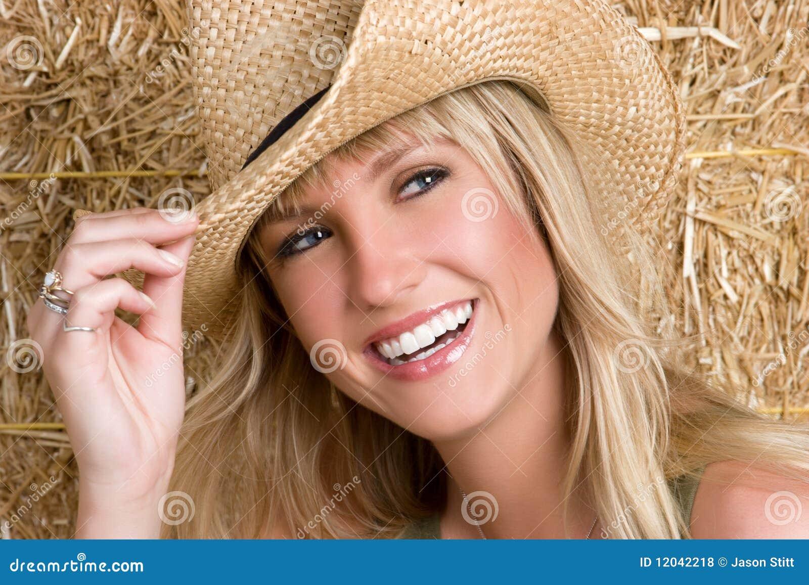 Cowgirl de riso