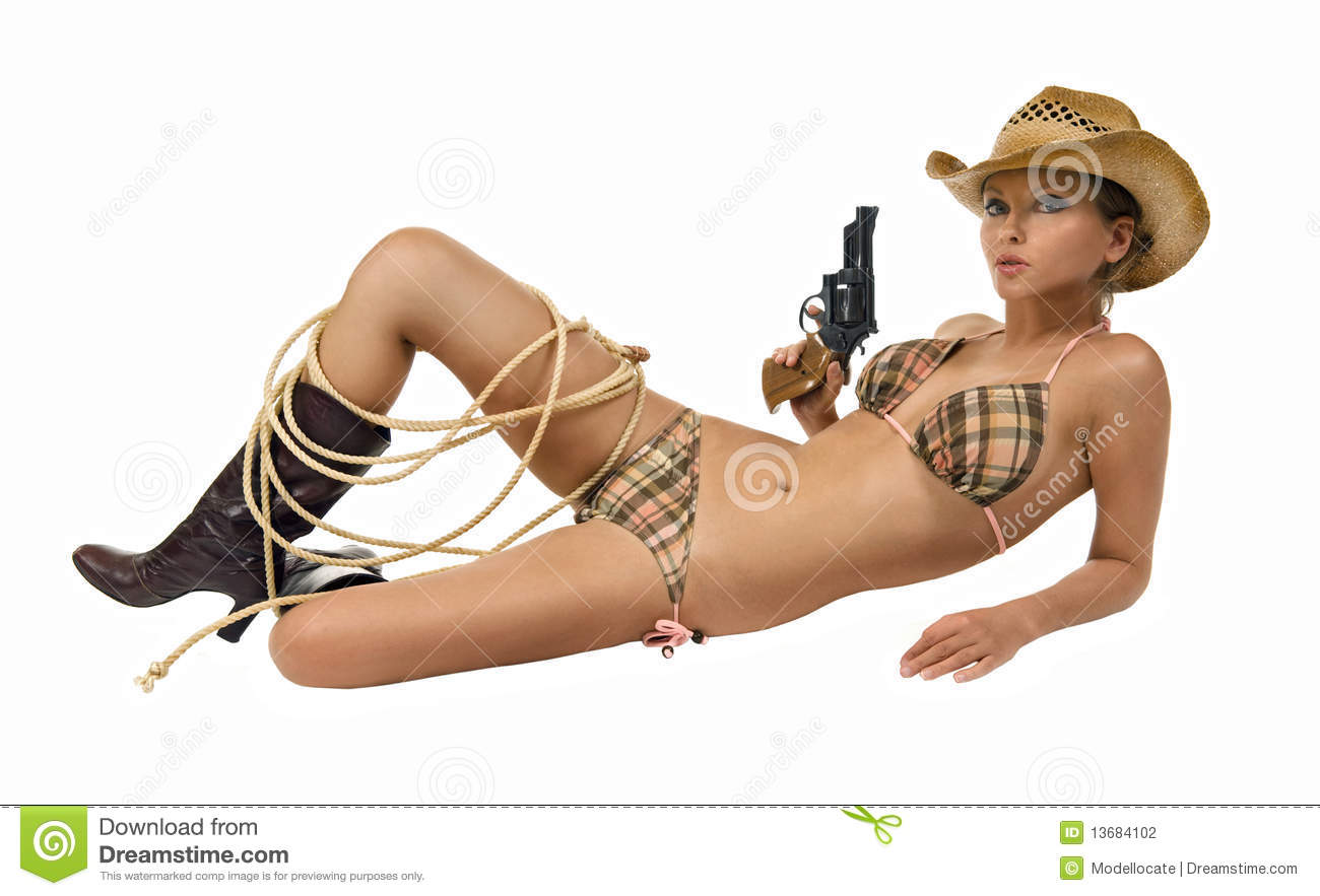 naked cowgirls and guns