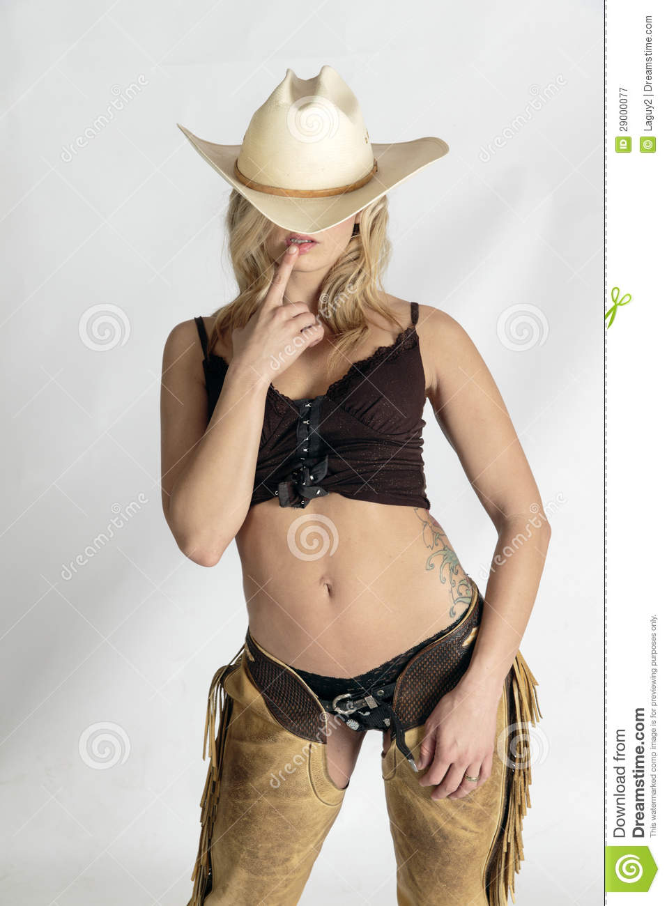 women wearing only chaps nude
