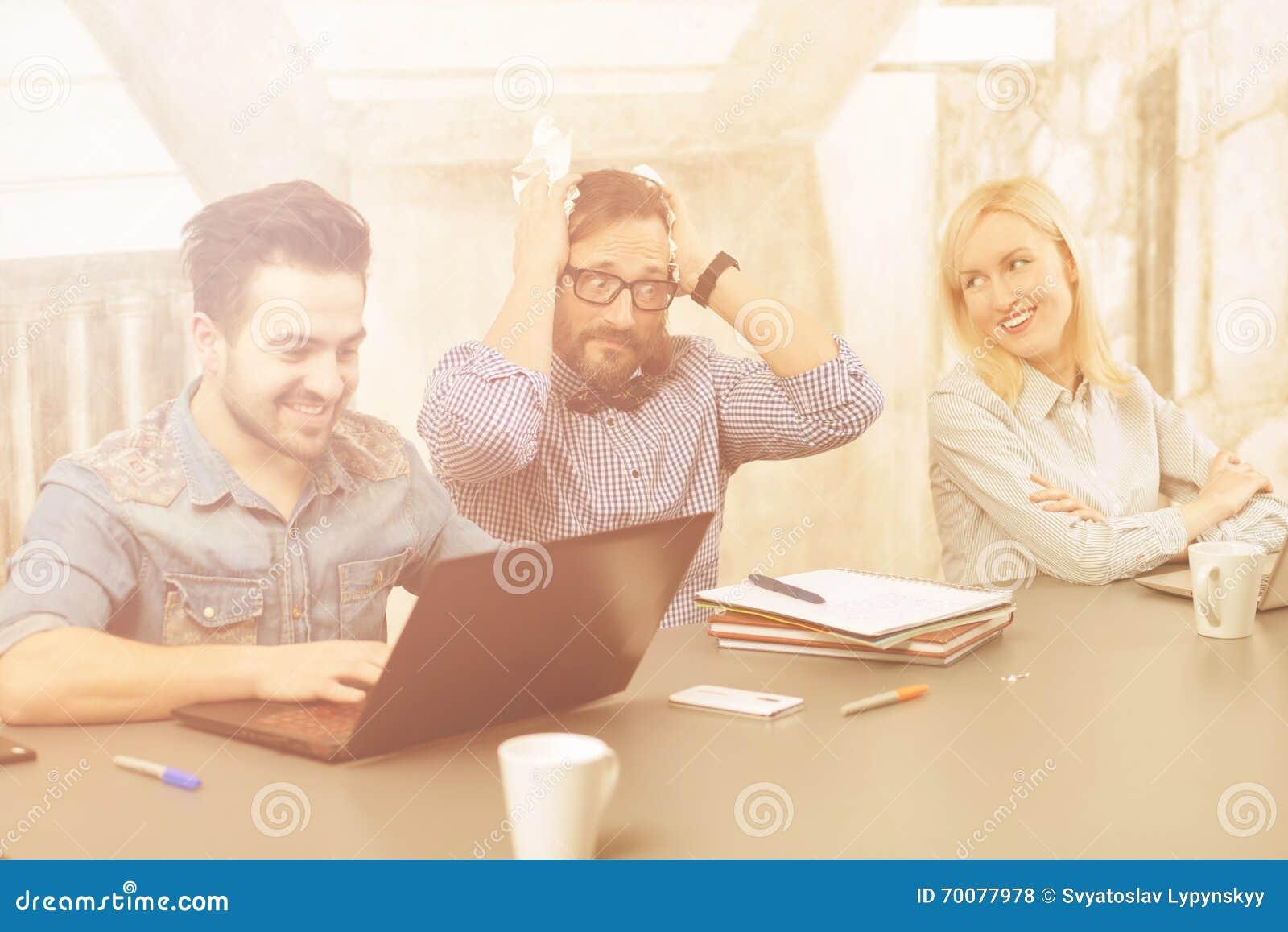 Coworking of businessteam