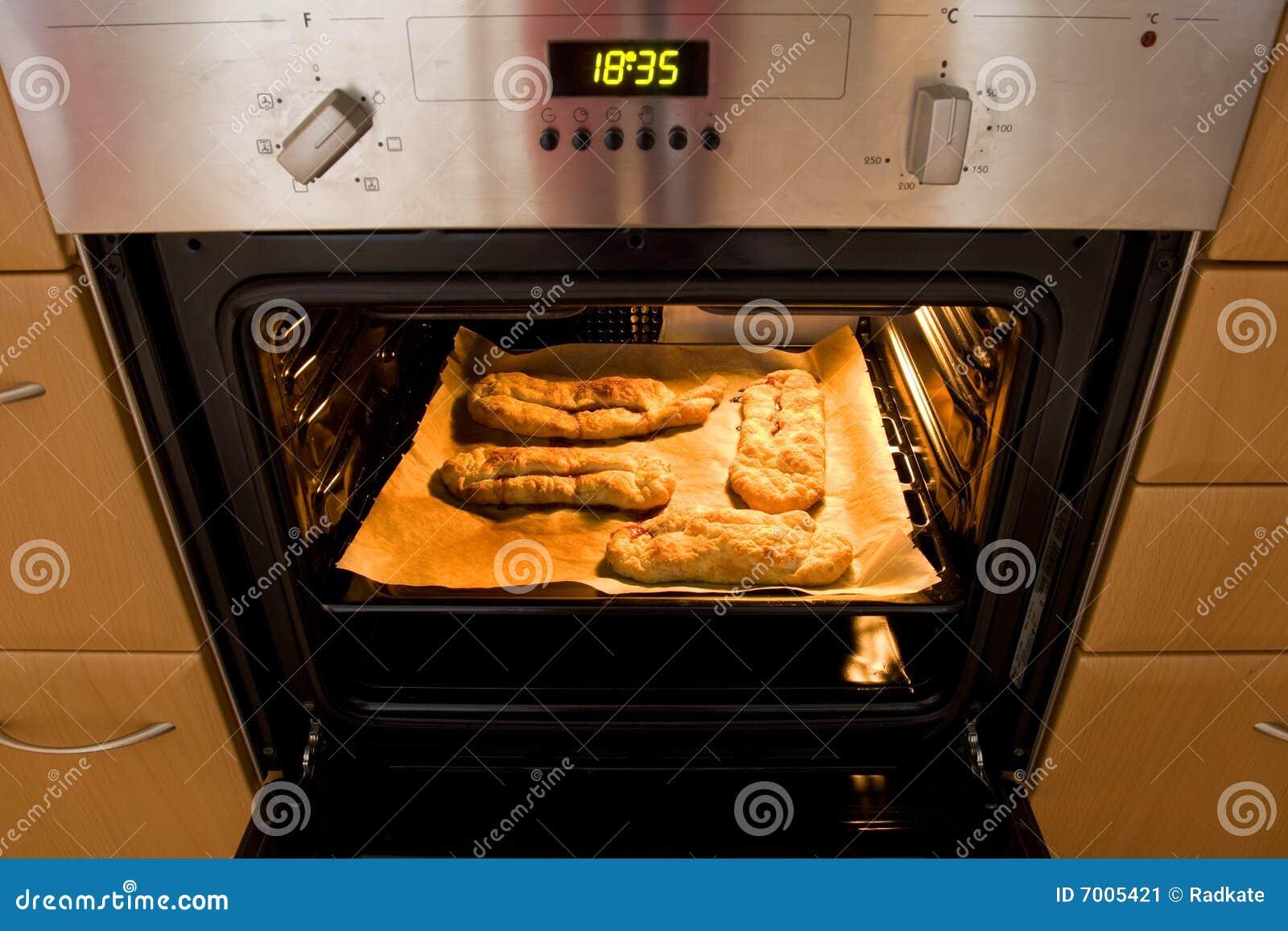 Cozer endurece no forno
