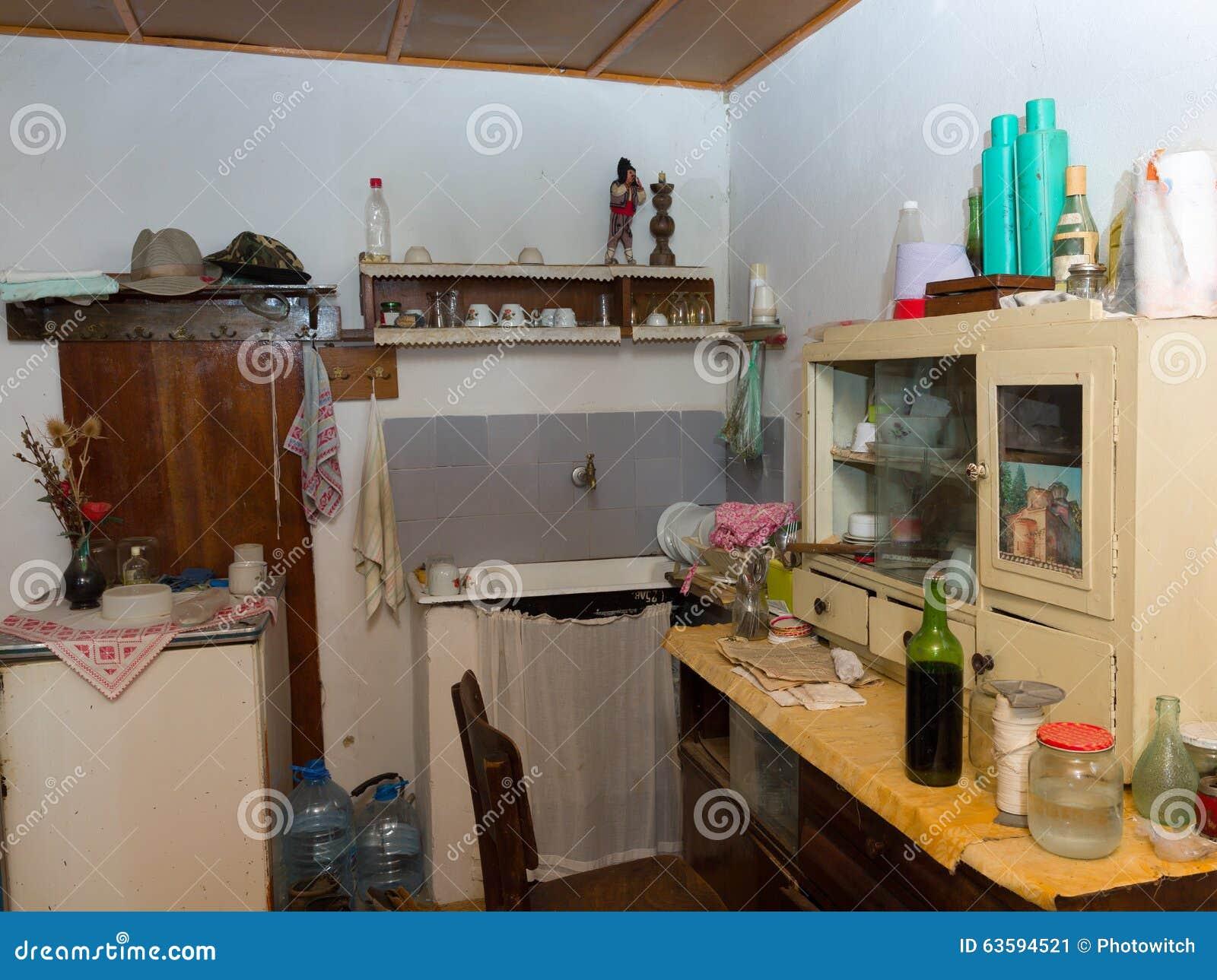 Cozinha Abandonada Imagem De Stock Imagem De Bulg Ria 63594521