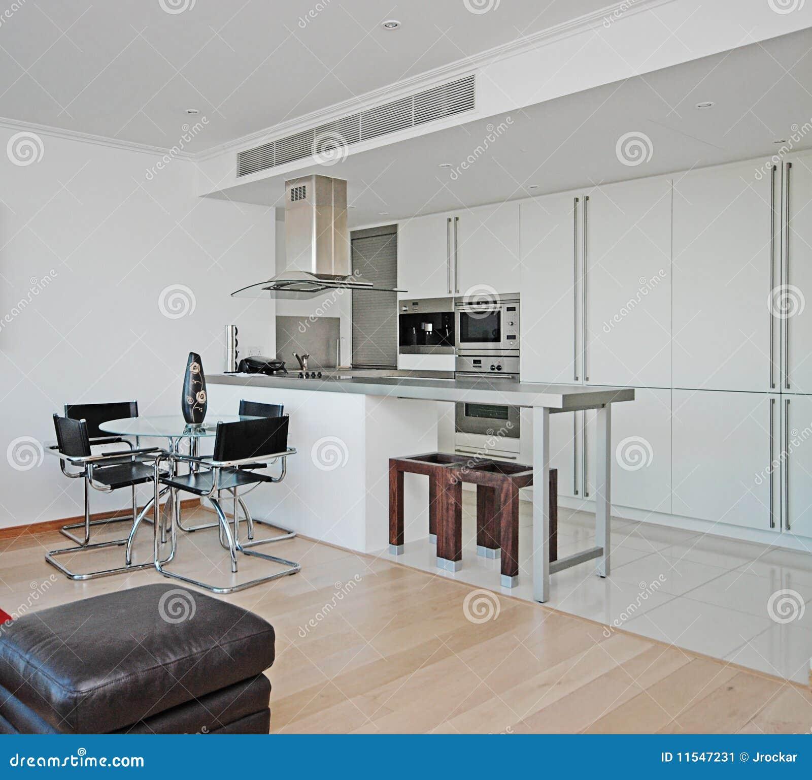 Cozinha aberta moderna da planta #69463C 1300 1265